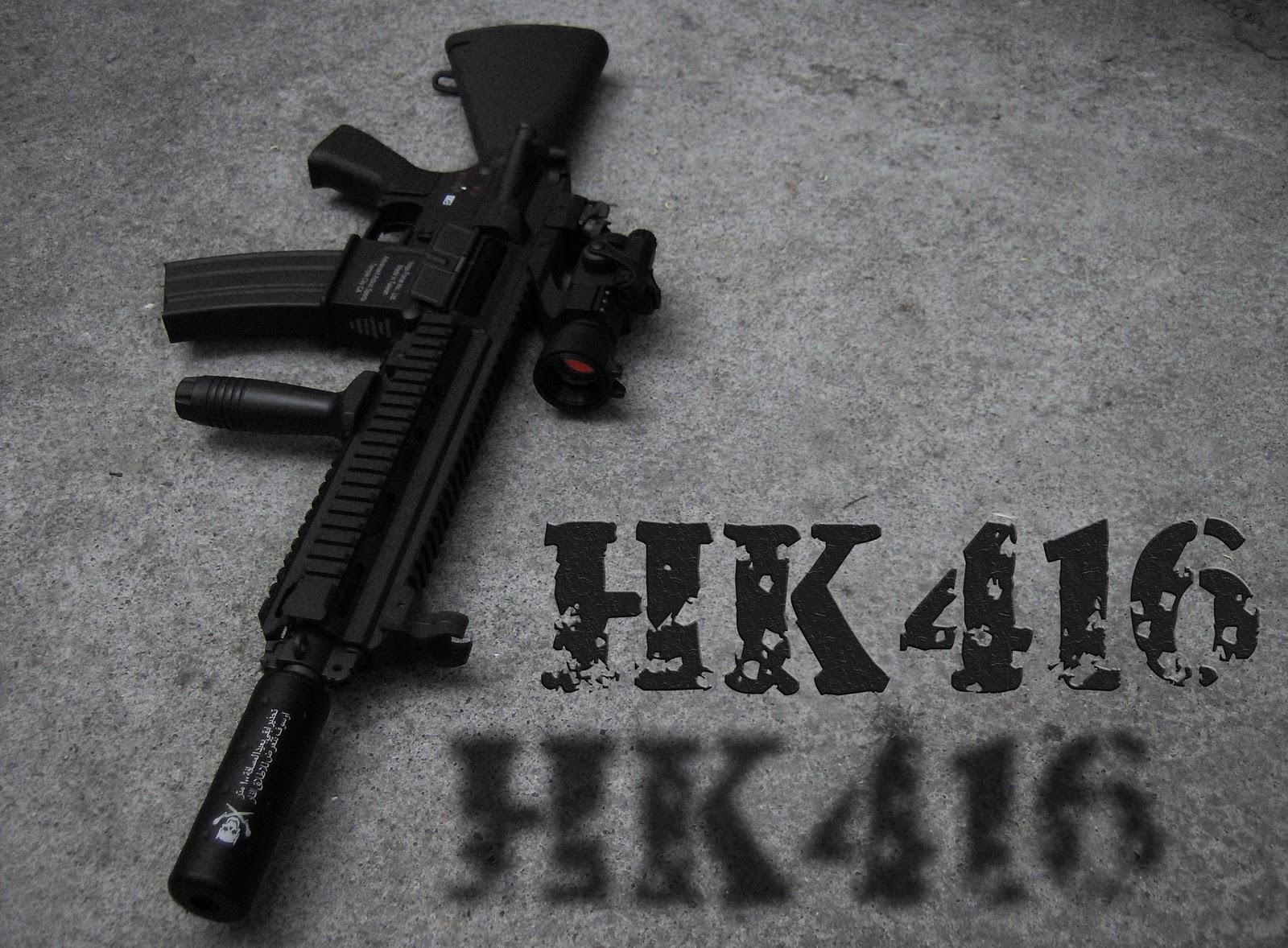 D'Krintanx=: HK416 modular assault rifle / carbine / upper