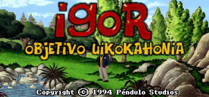 Igor: Objetivo Uikokahonia (Pendulo Studios, 1994)