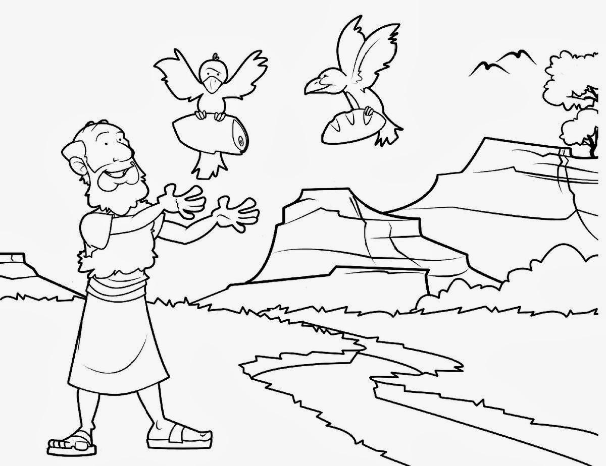 Imagenes Cristianas Para Colorear Dibujos Para Colorear De Elias