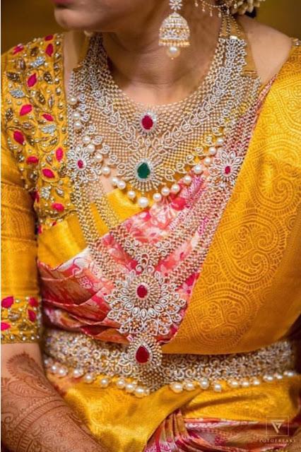 Three Step Classy Diamond Jewelry