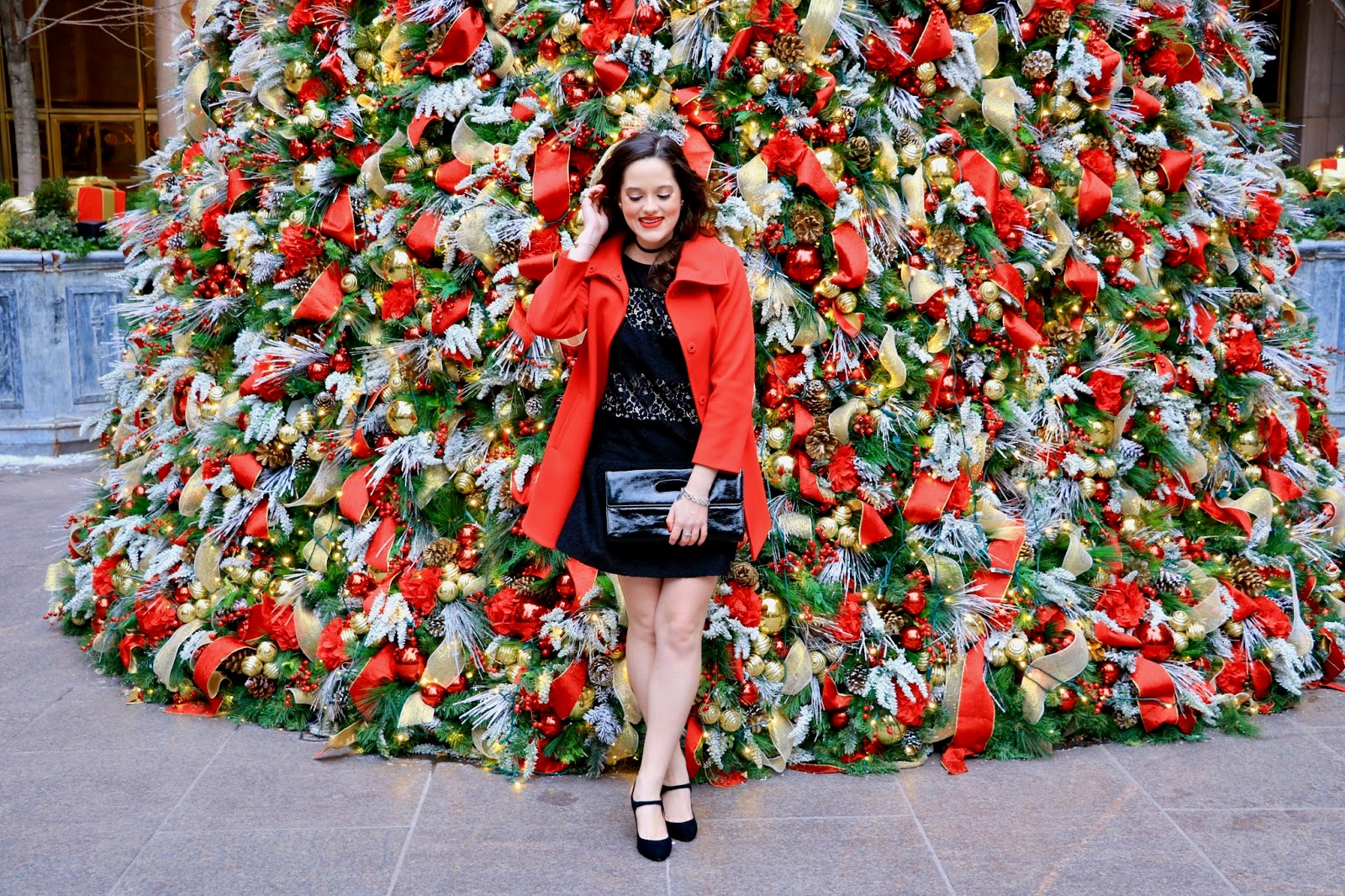 nyc christmas fashion pics