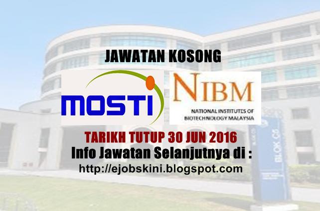 Jawatan Kosong di NIBM
