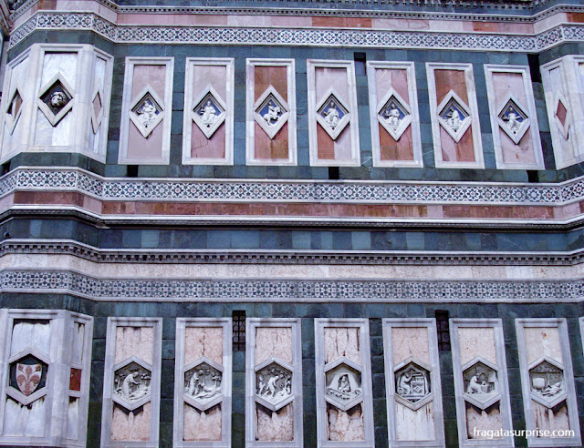 Campanário de Giotto, em Florença