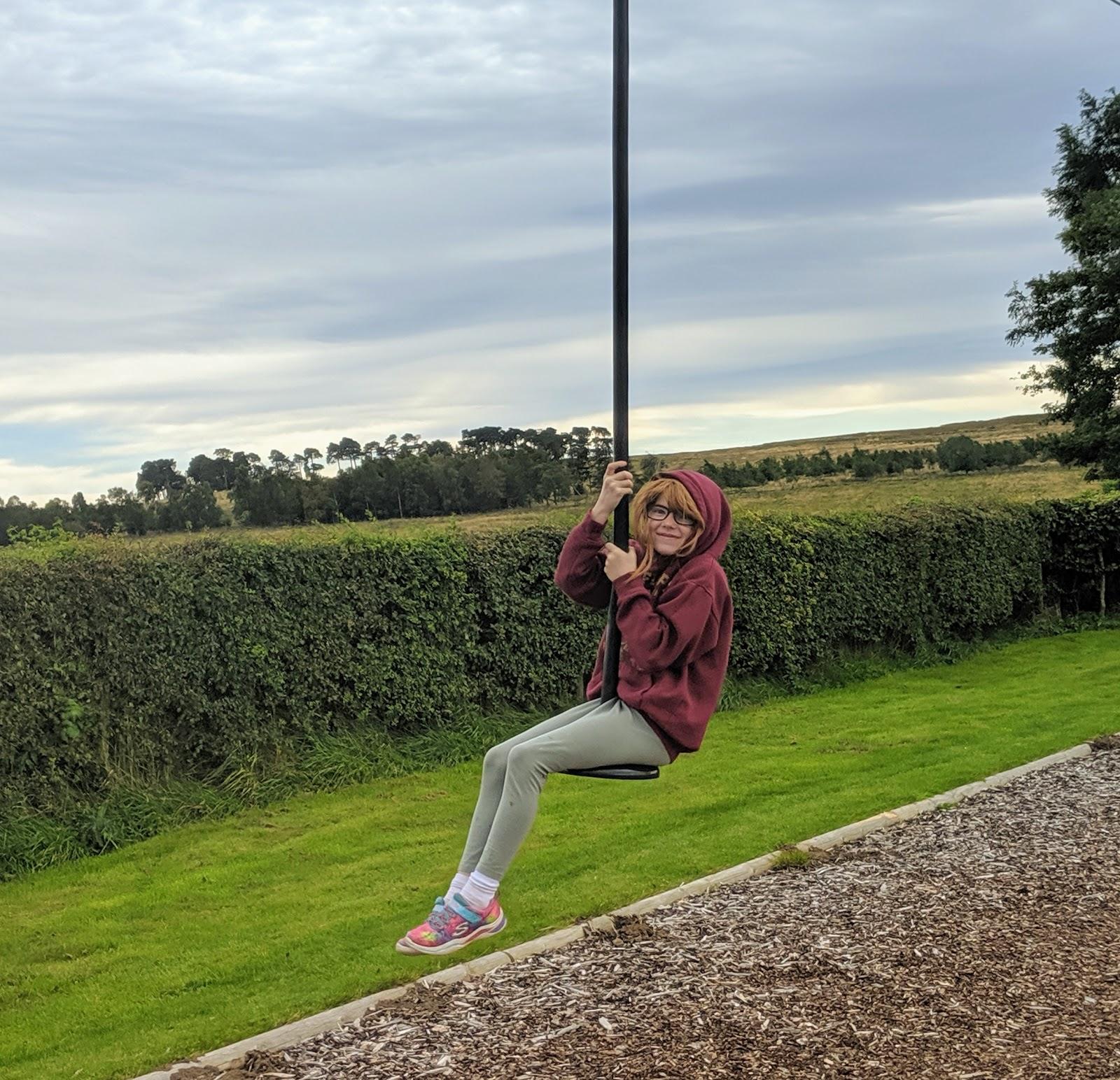 Fontburn Reservoir | Family Walk & Play Park  - zip wire