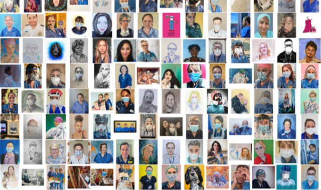 Google Arts and Culture acknowledges the tribute to frontline workers by Tom Croft