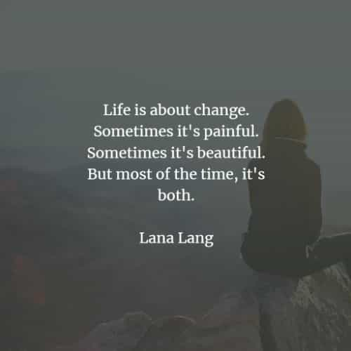 Change in life quotes and sayings to improve yourself