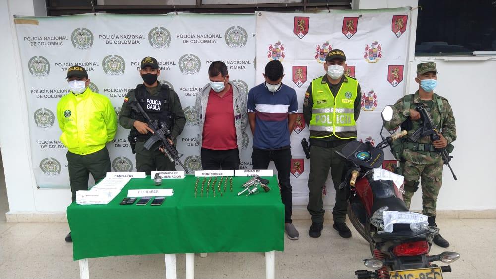 hoyennoticia.com, En el sur del Cesar capturan a dos del EPL