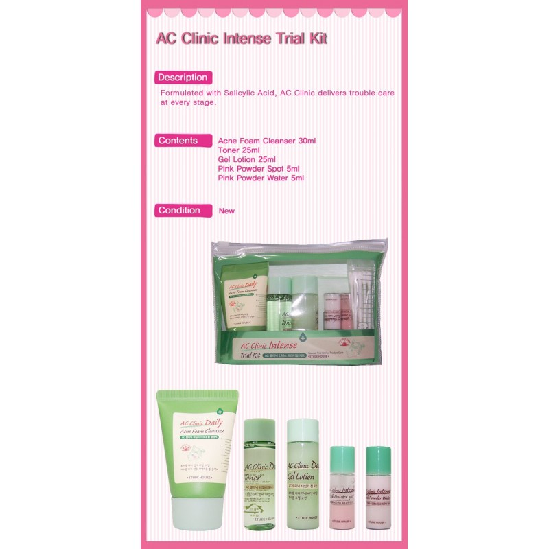 etude house ac clinic intense trial kit rp170 000 super
