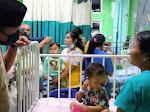 Tali Asih, Kapolres Se-Kepulauan Nias Fasilitasi Pengobatan Bocah Penderita Tumor Mata.