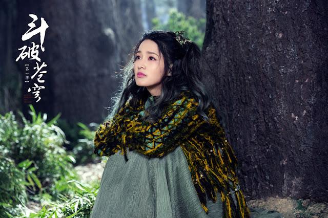 Battle Through The Heavens 2018 Chinese fantasy Li Qin