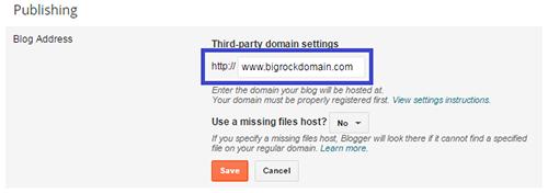 Typing Custom Domain