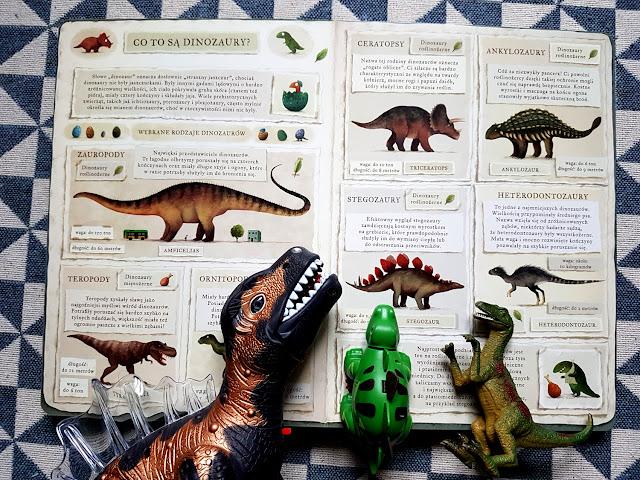 dinovember - dinozaury - opowiem ci mamo co robią dinozaury - emilia dziubak - nasza księgarnia - książeczki dla dzieci