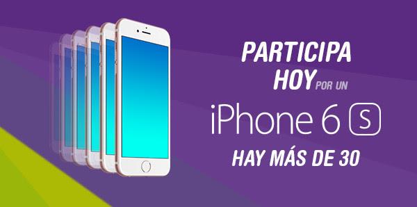 [Sorteo] Participa por un Smartphone iPhone 6S - Publica y Gana en Perú