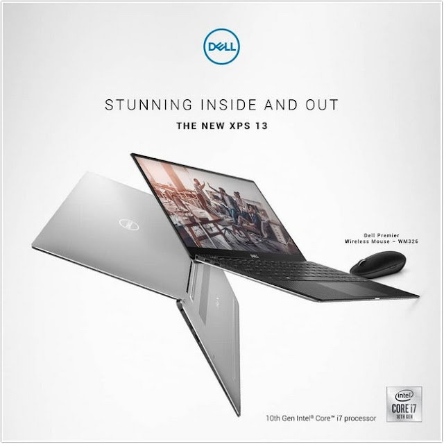Dell XPS 13 Intel Core Generasi Ke-10