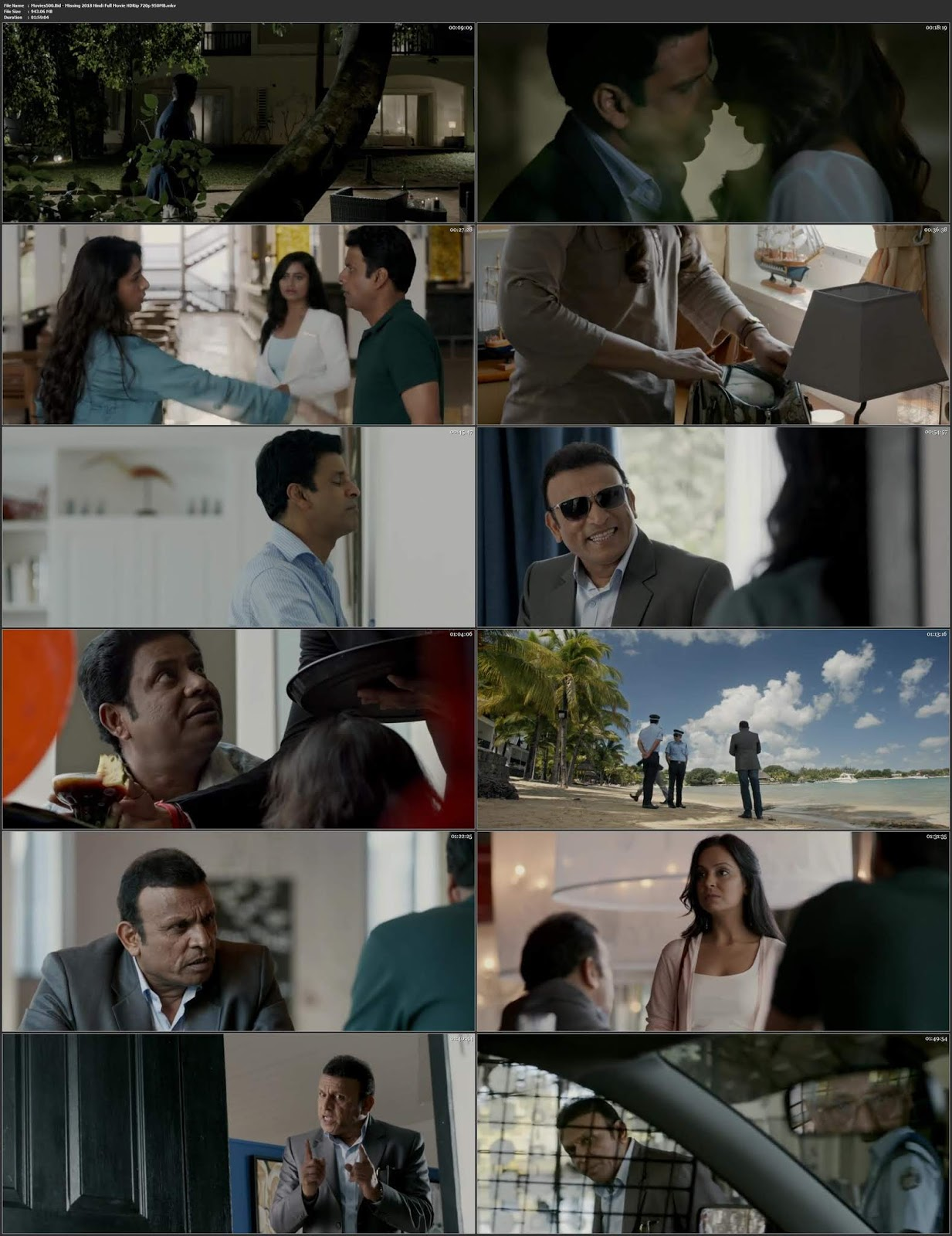 Missing 2018 Hindi Full Movie X264 HDRip 720p