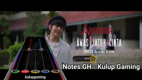 Clone Hero Lagu Indonesia - Notes Lagu Awas Jatuh Cinta - Armada