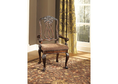 traditional dining armchair