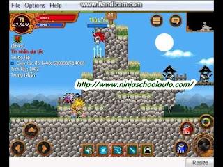 Cách làm nhiệm vụ 67 ninja school online nhanh