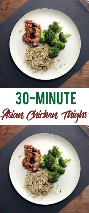 30-Minute Asian Chicken Thighs