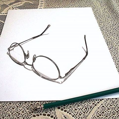 7 Foto Inspirasi Gambar Pensil 3D Yang nampak Nyata ...