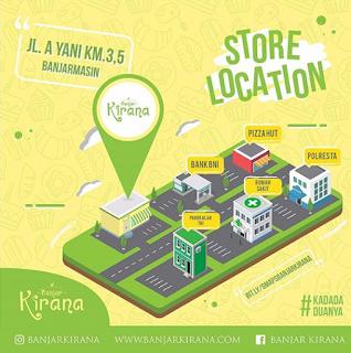 Alamat Banjar Kirana Cake by Citra Kirana di Banjarmasin