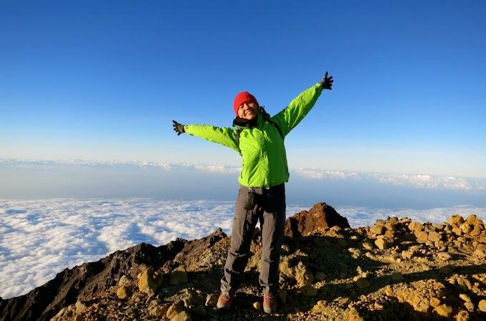 Puncak Gunung Rinjani