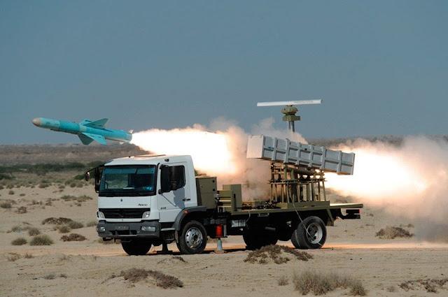 صاروخ نصر1 الايراني المضاد للسفن