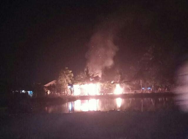 Masjid Milik Muhammadiyah Dibakar di Bireuen Aceh