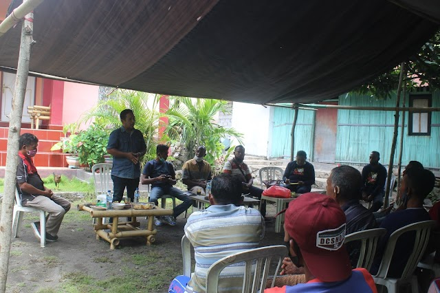 Penguatan Kelompok Nelayan  Gurita menjadi  prioritas Tananua, dan Dinas Cabang kelautan perikanan Propinsi