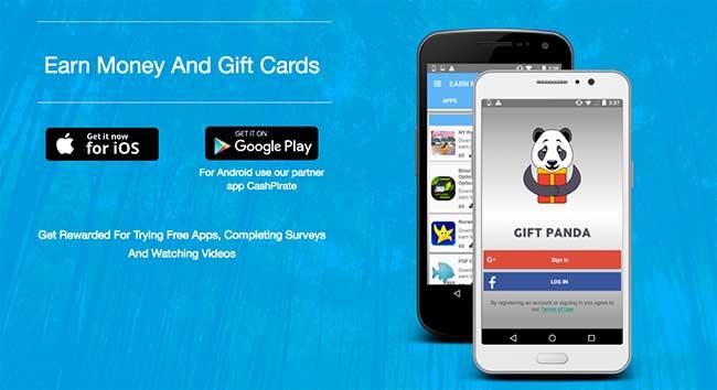 GiftPanda, una App sorprendente con la que ganarás dinero instalando Apps y viendo Videos