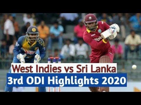 SL vs WI 3rd ODI 2020 live, full highlights, A thrilling match
