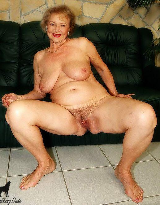 Old Naked White Women