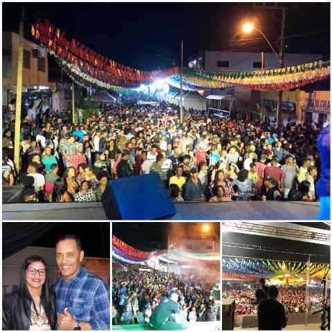 São João de Itaetê atrai multidão com festas na sede e no Rumo