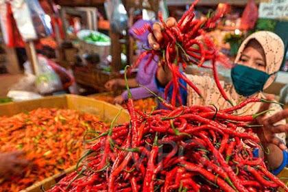 Jelang Idul Fitri, Harga Cabai Merah di Pasar Tembilahan Naik