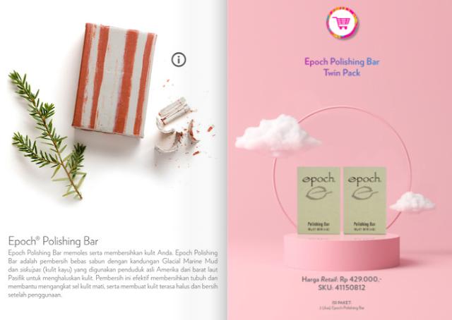 Promo Nu Skin Epoch Polishing Bar November 2020 harga spesial untuk setiap pembelian paket Polishing Bar Nu Skin di bulan November in. Dapatkan manfaat serta fungsinya untuk bantu mencerahkan kulit.