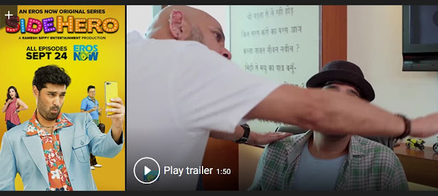 Play Side Hero (2018) Hindi Web Series Trailer online for free