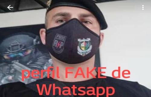 Criminoso vem usando perfil Fake de Oficial da PM para estelionato