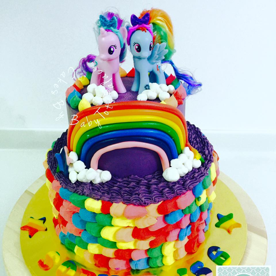 Flair Cakes Sisters Bespoke My Llittle Pony Cake