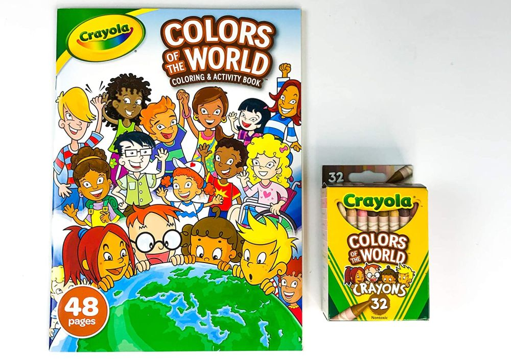 Цветные карандаши Crayola Colors of the World