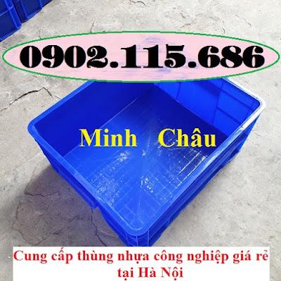 TT5 - Hop nhua co khi, thung nhua co khi, thung nhua cong nghiep, hop nhua cong nghiep, hộp nhựa trữ đông,