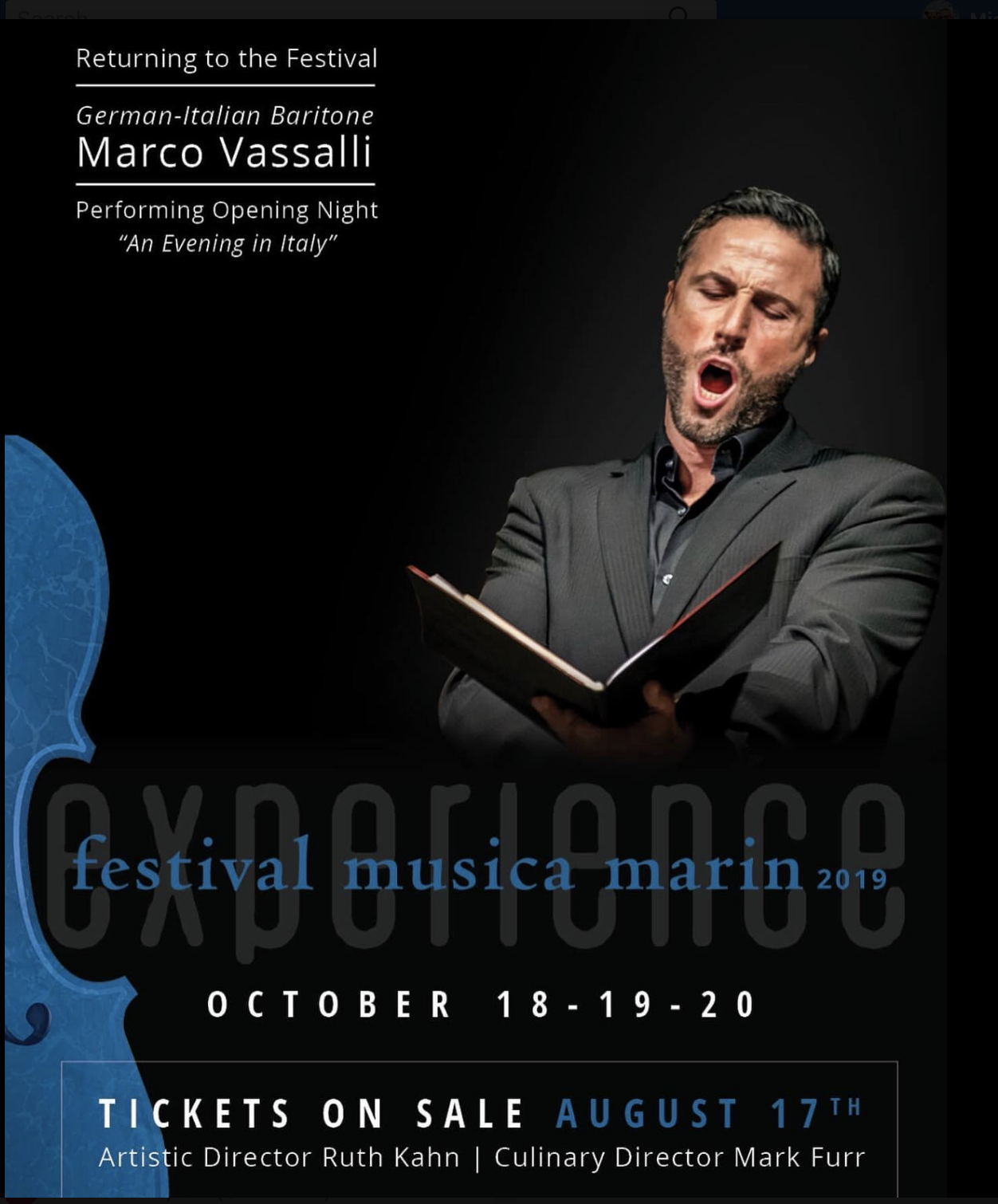 MARCO VASSALLI'S ONLY 2019 U.S. APPEARANCE