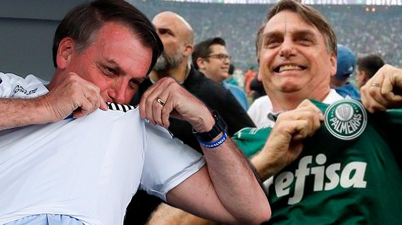 A Bolsonaro no se le permite ingresar a estadio del Santos por no estar vacunado contra el COVID-19
