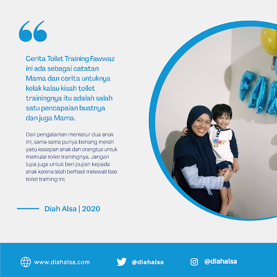 Cerita Toilet Training Fawwaz