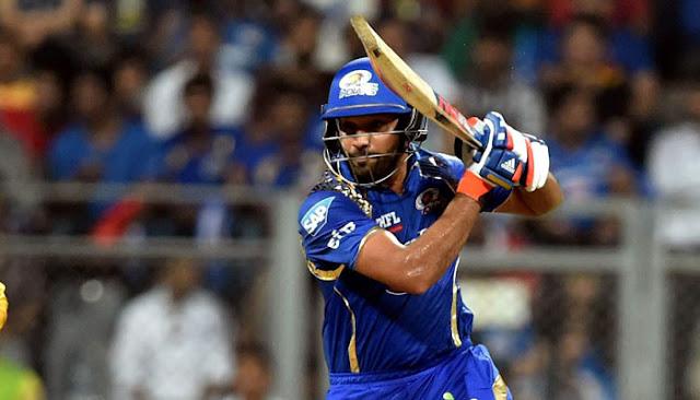 Rohit Sharma Captain of Mumbai Indians Holkar Stadium