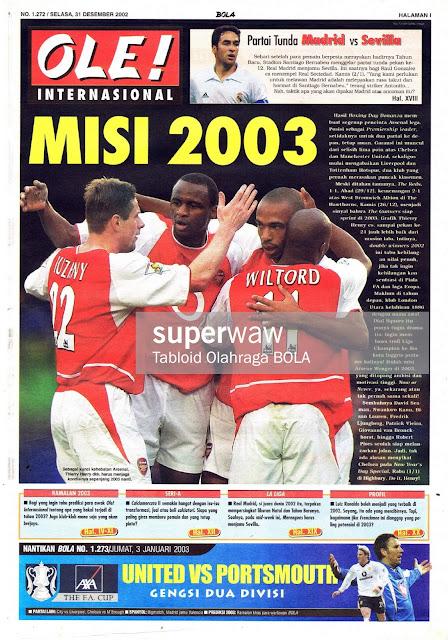 MISI 2003 ARSENAL