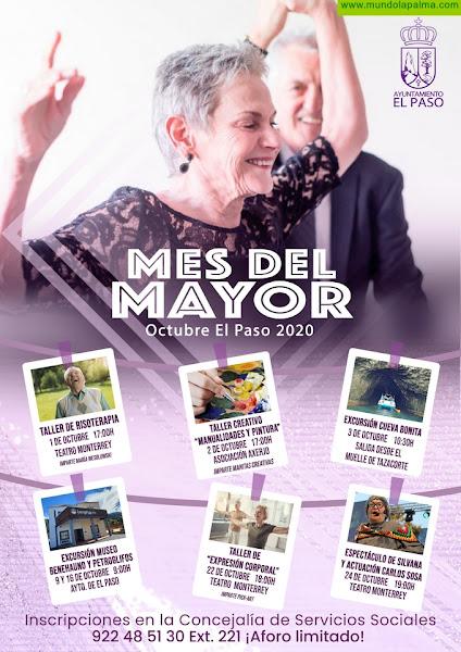 El Ayuntamiento de El Paso conmemora el 'Mes del Mayor' con múltiples actividades en octubre