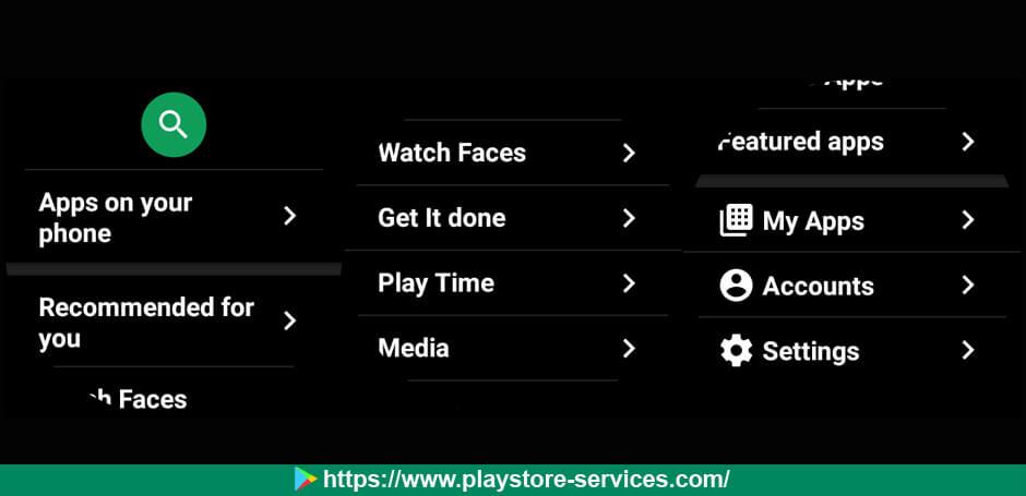 الإعدادت الجديدة لمتجر جوجل بلاي على أجهزة Wear OS