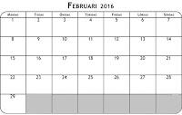 Februari i Sösdala, Vad händer i Sösdala i ferbruari?, februari 2016