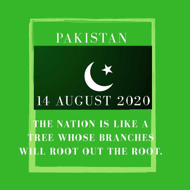 Pakistan Independence Day Sayings and Quotes 2020