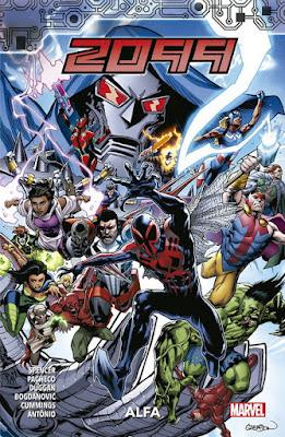 Reseña de 2099: Alfa y 2099: Omega - Panini Comics